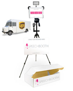 event video booth kit